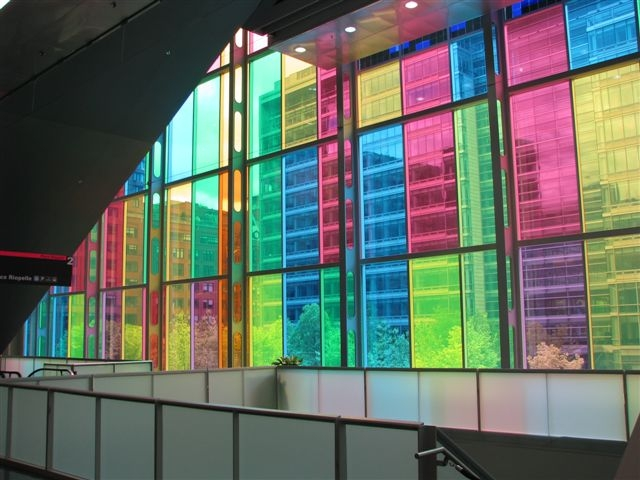 building-through-coloured-glass