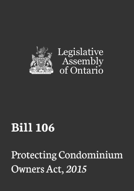 Bill 106 Update – Standing Committee on Finance and Economic Affairs